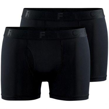 Craft Core Dry boxer 6-Inch (2-pack) schwarz Herren