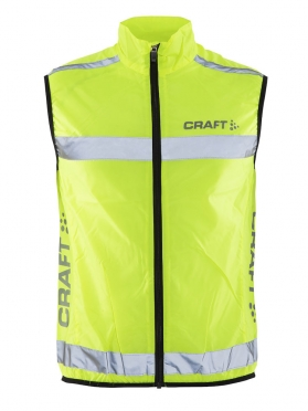 Craft Visibility Weste Neon Gelb