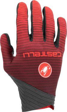 Castelli CW. 6.1 cross glove Radhandschuhe Schwarz/Rot Herren