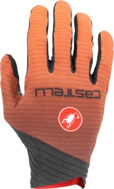 Castelli CW. 6.1 cross glove Radhandschuhe Schwarz/Orange Herren