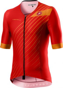 Castelli Free speed 2 race Tri Top Rot Herren