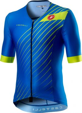 Castelli Free speed 2 race Tri Top Blau Herren