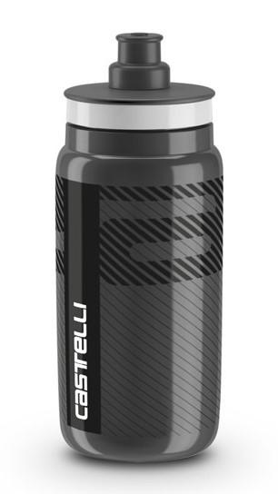 Castelli water bottle Trinkflasche 550ml Schwarz
