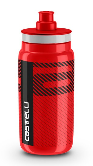 Castelli water bottle Trinkflasche 550ml Rot