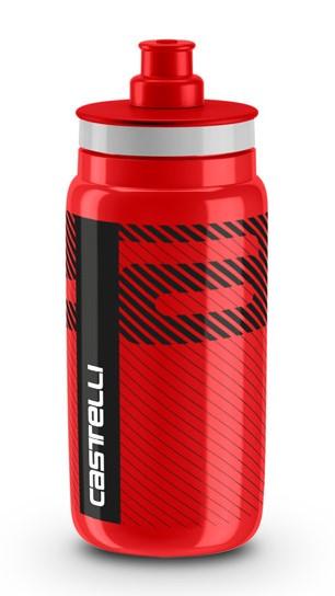 Castelli water bottle Trinkflasche 550ml Rot