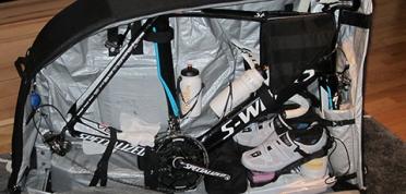 Fahrrad-Koffer und Taschen