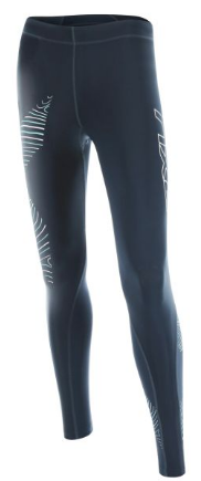 2XU Hyoptik Compression Tights Schwarz/Grau Damen