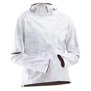 2XU GHST Waterproof Laufjacke Weiß Damen