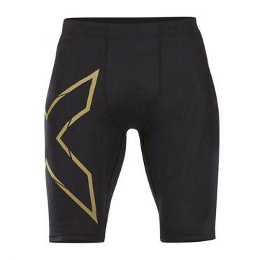 2XU MCS Run Kompression shorts Schwarz/Gold Herren