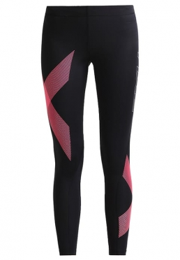 2XU TR2 Compression Tights Schwarz/Rosa Damen
