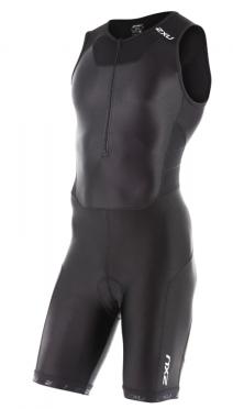2XU X-vent Front Zip Trisuit Schwarz Herren