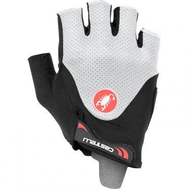 Castelli Arenberg gel 2 glove Schwarz/Weiß Herren
