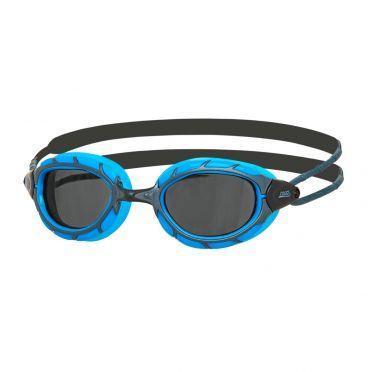 Zoggs Predator dunkle Linse Schwimmbrille Blau