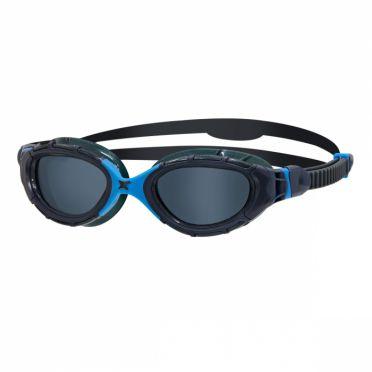 Zoggs Predator dunkle Linse Schwimmbrille Blau Kopie