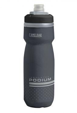Camelbak Podium chill Trinkflasche 620ml Schwarz