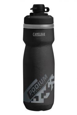 Camelbak Podium Dirt series chill Trinkflasche 620ml Schwarz