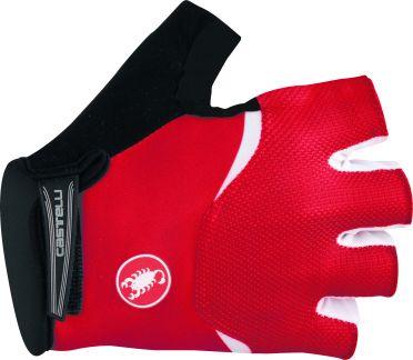Castelli Arenberg gel glove Rot/Weiß Herren