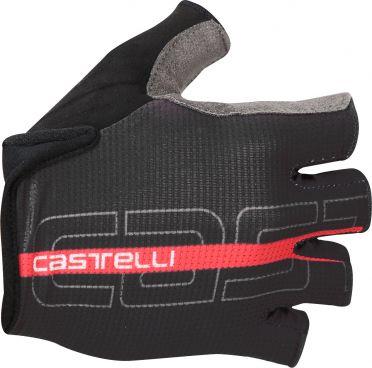Castelli Tempo glove Radhandschuhe Schwarz/Rot Herren