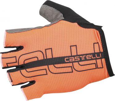 Castelli Tempo glove Radhandschuhe Orange/Schwarz Herren