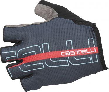 Castelli Tempo glove Radhandschuhe Dunkelblau/Rot Herren