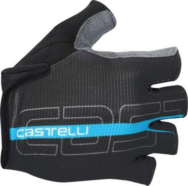 Castelli Tempo glove Radhandschuhe Schwarz/Sky Blau Herren