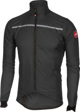 Castelli Superleggera Jacket Anthrazit/Gelb Herren