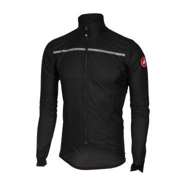 Castelli Superleggera jacket Regenjacke Schwarz Herren