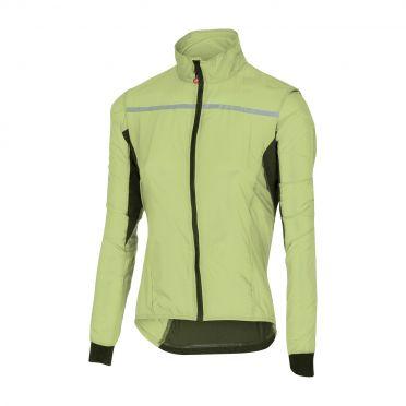 Castelli Superleggera W jacket Regenjacke Limette Damen