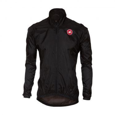 Castelli Squadra jacket Regenjacke Schwarz Herren