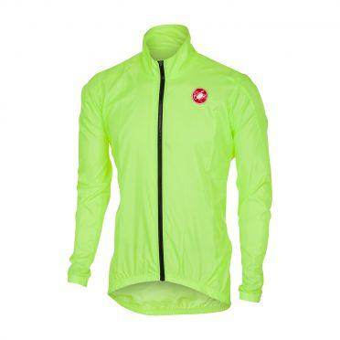 Castelli Squadra jacket Regenjacke Gelb Fluo Herren