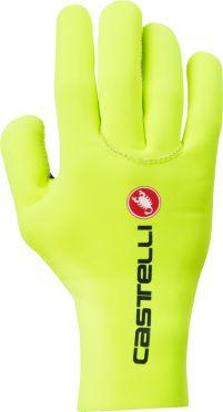 Castelli Diluvio c glove Radhandschuhe Gelb Fluo Herren