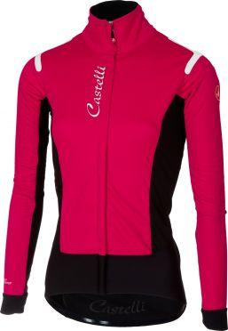 Castelli Alpha RoS W Jacket Rosa/Schwarz Damen
