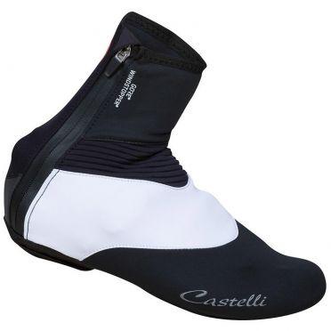 Castelli Tempo W Überschuhe Schwarz/Weiß Damen