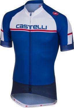 Castelli Distanza jersey Kurzarmtrikot Dunkelblau Herren