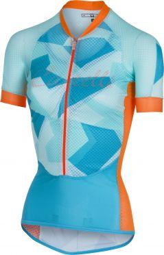 Castelli Climber's W jersey Blau/Orange Damen