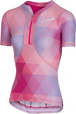 Castelli Alba jersey Kurzarmtrikot Rosa Damen