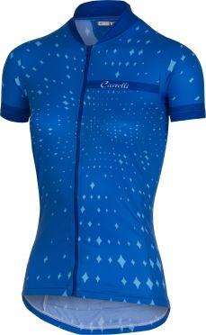 Castelli Stella Kurzarmtrikot Blau Damen