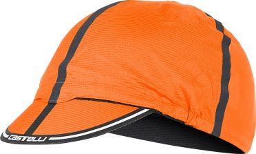 Castelli Ros Fahrradkappe Orange Herren