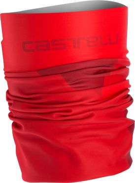 Castelli Arrivo 3 thermo head thingy Rot Herren