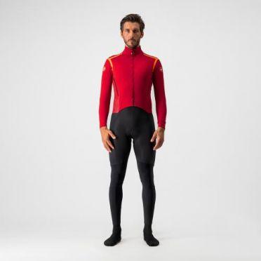 Castelli Sanremo RoS Thermosuit Rot;Schwarz Herren