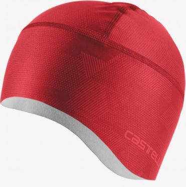 Castelli Pro thermal skully Rot