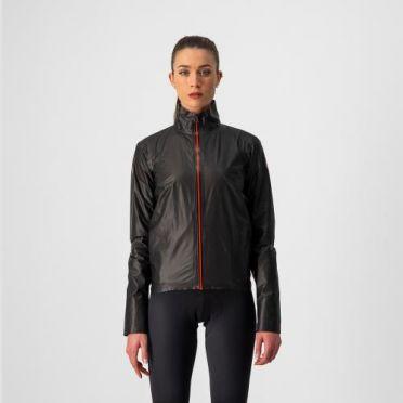 Castelli Idro 3 W Regen Jacket Schwarz Damen