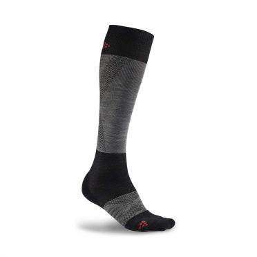 Craft Alpine Warm Socken Schwarz