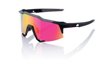 100% Speedcraft Sportbrillen soft tact graphit mit mirror lens