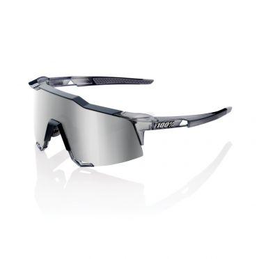 100% Speedcraft Sportbrillen polished crystal Grau mit hiper lens Grau