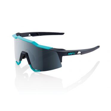 100% Speedcraft Sportbrillen Grau/Grün mit mirror lens Grau