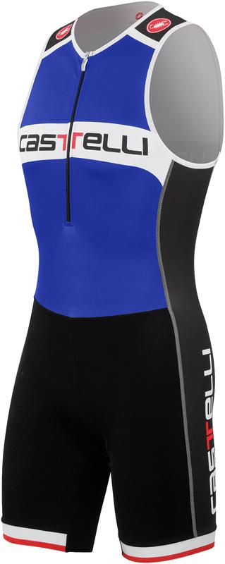 Castelli Core Tri Suit Blau/Weiß Herren