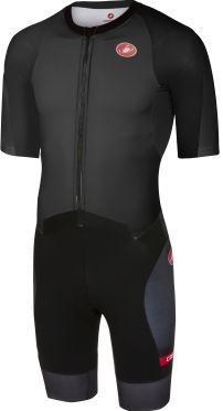 Castelli All out speed Trisuit Kurzen Ärmel Schwarz Herren