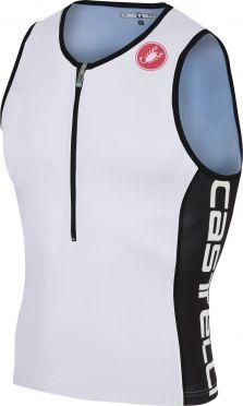 Castelli Core 2 tri top Weiß/Schwarz Herren