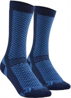 Craft Warm Mid Socken Blau 2-pack